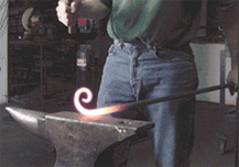 Brian Hall, Blacksmith